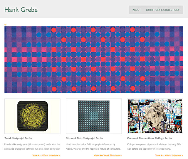 HankGrebe.com Screenshot