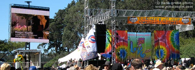 Summer of Love 2007 stage