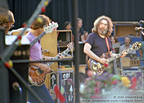 Grateful Dead performing May 23, 1982, Greek Theater, Berkeley, CA