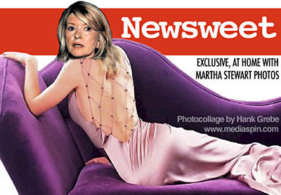 Martha Stewart Newsweet Cover