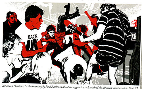 Collage in The New Yorker using two of my photos