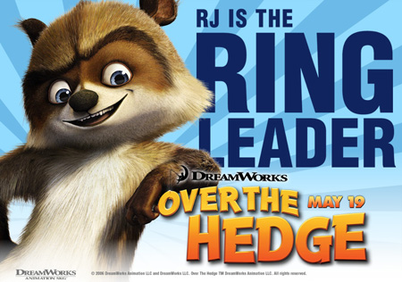 RJ Over The Hedge