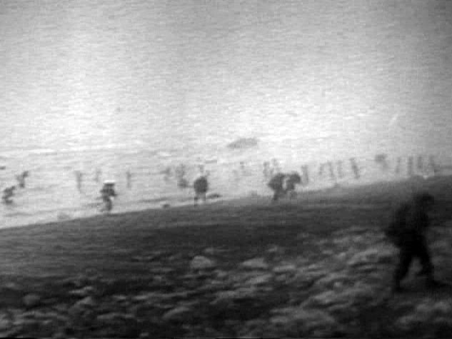 GI Storming The Beach
