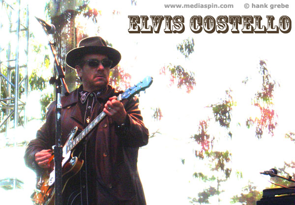 Elvis Costello, San Francisco, October 7, 2006