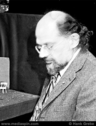 Allen Ginsberg, October 1982