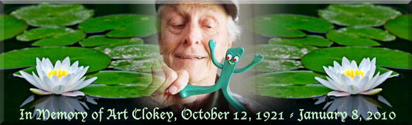 In Memory of Art Clokey