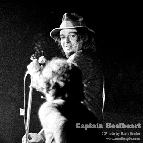 Classic Beefheart photo, used on Railroadism CD album cover