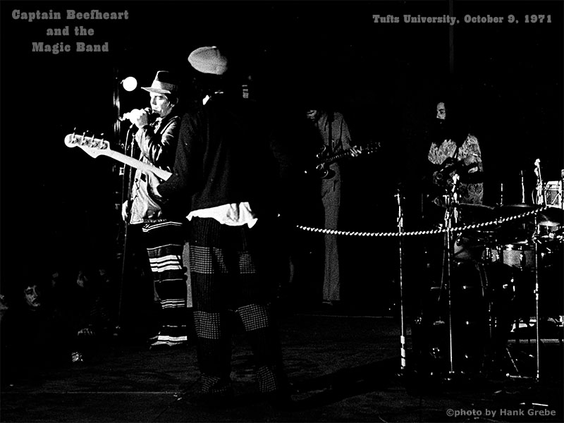 Tufts University, Beefheart Rock Concert Photo