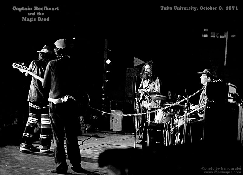 Captain Beefheart Rock Concert photo from offstage