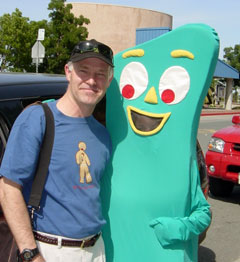 Gumby and me