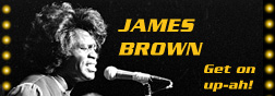 James Brown Banner and Link