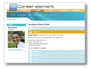 Career Element website