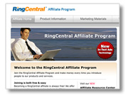 Ring Central website