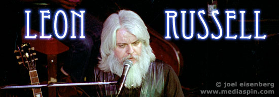 Leon Russell Banner