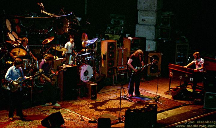 Grateful Dead 29 March 1983 Warfield Theatre San Francisco Ca