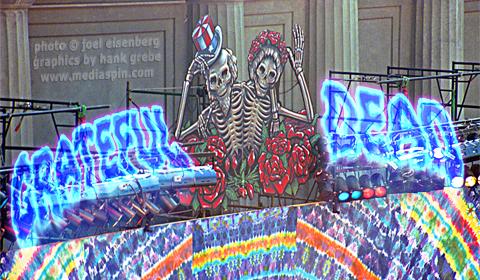 Grateful Dead Concert banner