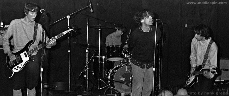 R.E.M. photo by Hank Grebe, 1981